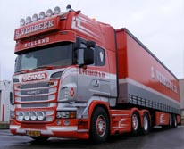 Verbeek Tiel - Schuifzeil transport